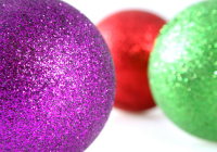 Christmas Decorations With Shallow Depth of Field